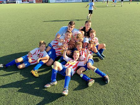 "Benjamín ""A"" campeón X torneo fútbol 8 Benissa 2016"