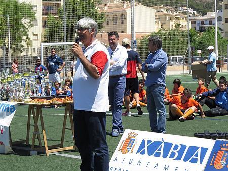 Entrega trofeos liga local Penya La Marina temp. 2013/2014