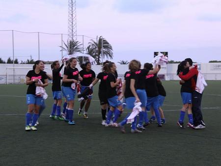 Imágenes del equipo femenino para su vídeo promocional