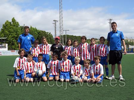 Prebenjamín campeón de Liga 2013