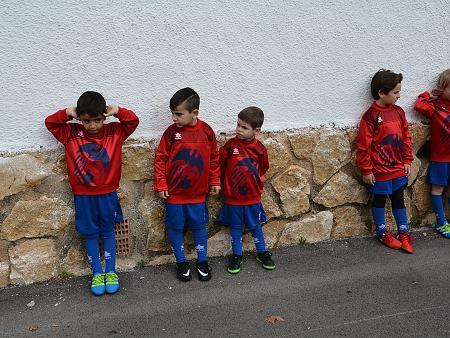 Presentación escuela fútbol CD Jávea 2016/17